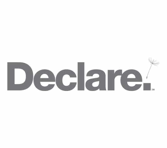 Declare labels for Signature Floor Products - Carpet tiles, vinyl planks and more